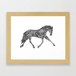 Paisley Pace Framed Art Print