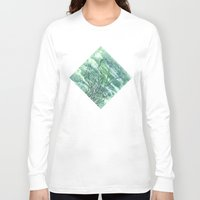 grass Long Sleeve T-shirts featuring GRASS by AMULET