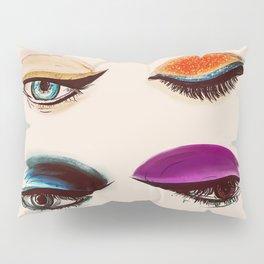 Shadows and Eyeliner Pillow Sham