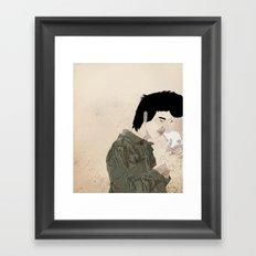 Smokey & the Jacket Framed Art Print