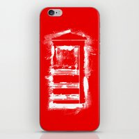 telephone iPhone & iPod Skins featuring Telephone by Sir Rupert