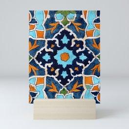 Mediterranean tile Mini Art Print