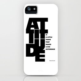 Lab No. 4 - Life Inspirational Quotes Of Attitude Inspirational Quotes Poster iPhone Case