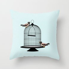 The Escapees Throw Pillow
