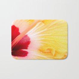 Abstract Flower Summer Colors Macro Bath Mat