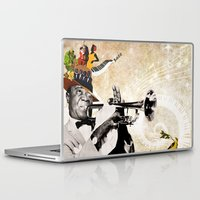 jazz Laptop & iPad Skins featuring Jazz  by Design4u Studio