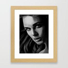 Elizabeth Swann Framed Art Print