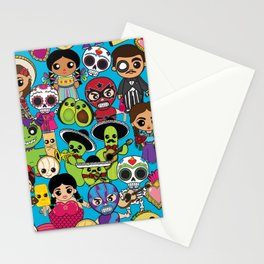 Latinx Pop Culture Stationery Cards