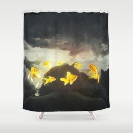 Lone Ideas Shower Curtain