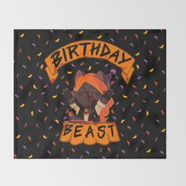 Birthday Beast (2018) Throw Blanket