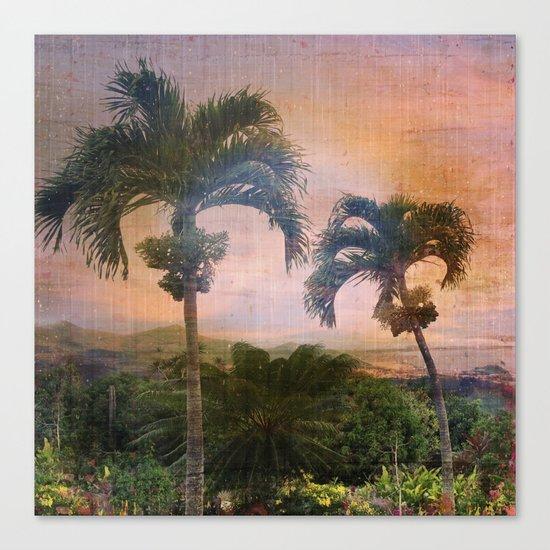 Here Comes The Rain Canvas Print