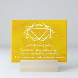 Solar Plexus Chakra Mini Art Print