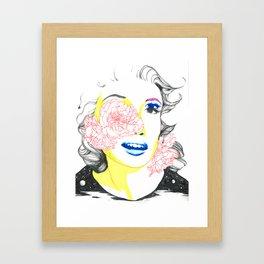 jayne mansfield Framed Art Print