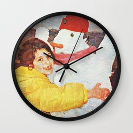 Joy Is Helping Someone Find Their Smile Wall Clock