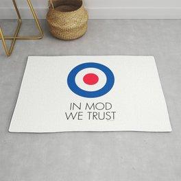 In Mod We Trust Rug