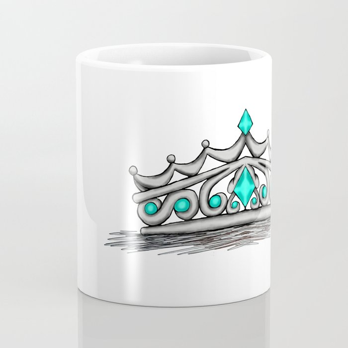 Turquoise Tiara Coffee Mug
