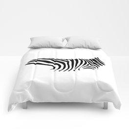 The Savanna Series 002: Zebra Comforters