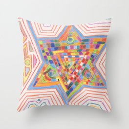 Alchemy 7 Throw Pillow