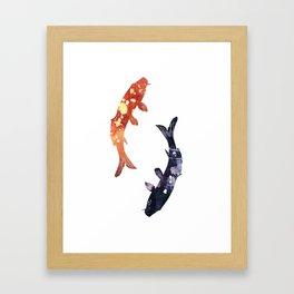 Little patronus - Carp Framed Art Print