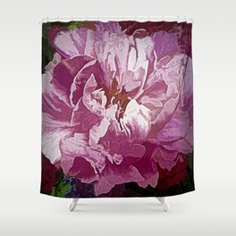 A Passion for Flowers Shower Curtain