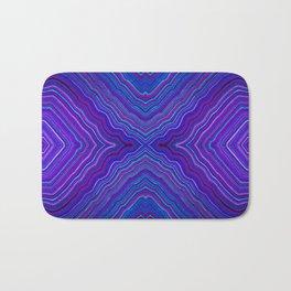 Abstract #9 - IX - Brilliant Blue Bath Mat