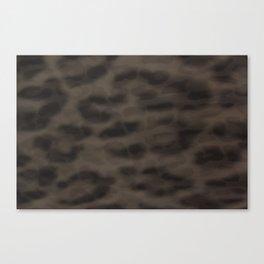 Double Leopard Canvas Print