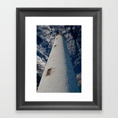 Barns Ness Lighthouse Framed Art Print