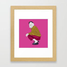 KINSHIP+SILVER Framed Art Print