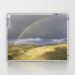 """If you want the RAINBOW you've got to deal with the rain"" Laptop & iPad Skin"