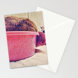 Some Friends have to Walk On Four Legs, Just So They Can Carry Around Such Big Hearts Stationery Cards