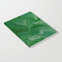 Malachite Marble Notebook