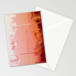 CHAMPAGNE DRUNK SKYLINES Stationery Cards