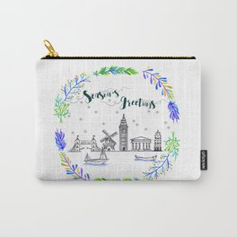 Christmas Europe Carry-All Pouch