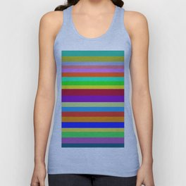 Colors, Colors, Colors Unisex Tank Top