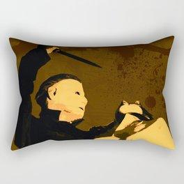 Michael Myers * Halloween * Vintage Horror Movie Inspiration Rectangular Pillow