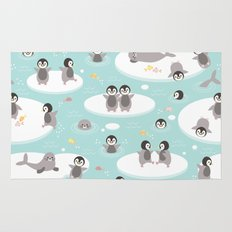 Penguins and seals Rug