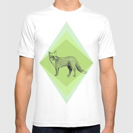fox in forest T-shirt