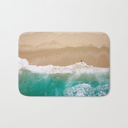 Peace to the Sea Bath Mat