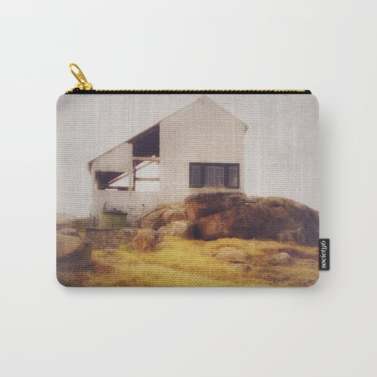 Once Upon a Time an Abandoned House  Carry-All Pouch