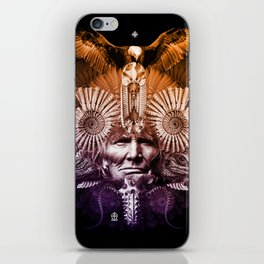 Psychedelic Shaman iPhone Skin