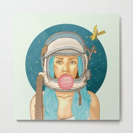 Bubblerella Metal Print