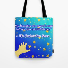 The Fault In Our Stars Tote Bags Society6