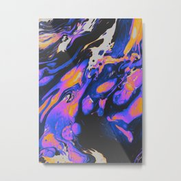 FIRED UP & FRUSTRATED Metal Print