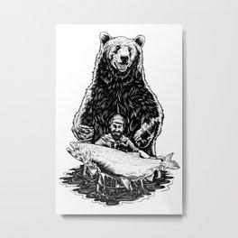 Bearware Metal Print