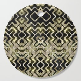 Tribal Gold Glam Cutting Board