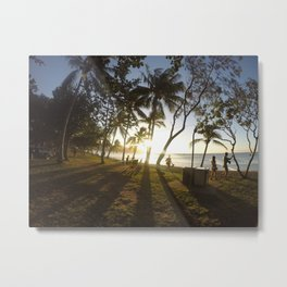 Australian Sunrays Metal Print