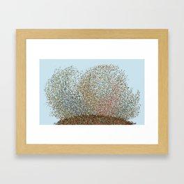 Sky Scene Framed Art Print