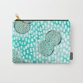 turquoise summer Carry-All Pouch
