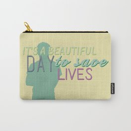 it's a beautiful day Carry-All Pouch