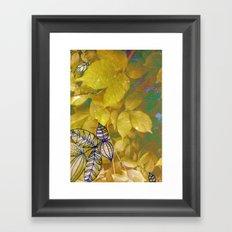 leaves evolved 1 Framed Art Print